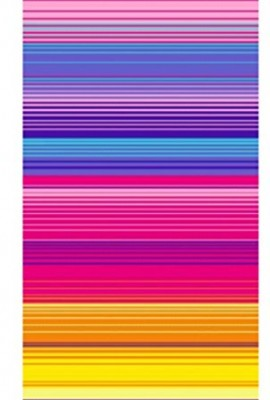 100-Pure-Cotton-Luxury-Rainbow-Stripe-Blue-Pink-Beach-Towel-Modern-Design-75x150cms-0