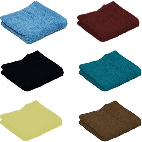 20-Assorted-Colour-100-Cotton-face-cloths-Flannels-30cm-x-30cm-0