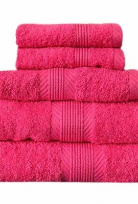 Catherine-Lansfield-Home-100-Cotton-450gsm-4-Piece-Guest-Towel-Set-Hot-Pink-0