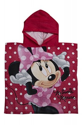 DISNEY-Hooded-Boys-Girls-Kids-Mickey-Minnie-Jake-Princess-Bath-Poncho-Towel-0