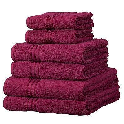 Linens-Limited-Supreme-100-Egyptian-Cotton-500gsm-6-Piece-Hotel-Towel-Set-Wine-0