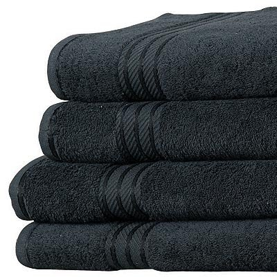 Linens-Limited-Supreme-500gsm-Egyptian-Cotton-Hand-Towel-Black-0-0