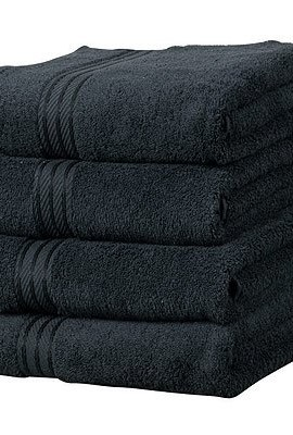 Linens-Limited-Supreme-500gsm-Egyptian-Cotton-Hand-Towel-Black-0
