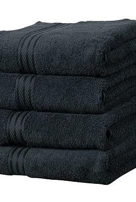 Linens-Limited-Supreme-500gsm-Egyptian-Cotton-Hand-Towel-Black-0