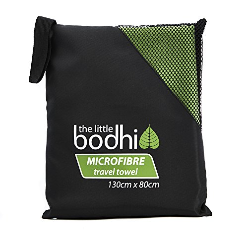 Microfibre-Travel-Towel-Green-for-beach-camping-sports-gym-yoga-or-pilates-0-0