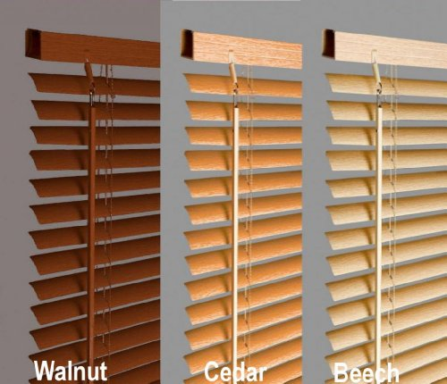New-120cm-Beech-Natural-Wood-Effect-Pvc-Venetian-Blinds-AVAILABLE-IN-10-SIZES-AND-4-COLOURS-Buy-As-Many-As-Like-For-A-Max-Of-499-Shipping-0