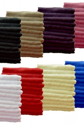 Pack-of-12-Face-Cloth-Luxury-Egyptian-Plain-100-Cotton-30-X-30-White-0