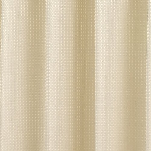 Waffle-Natural-Lined-Ready-Made-Curtain-Pair-90-x-90-Size-0-0